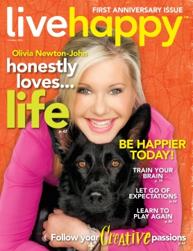 Live Happy October issue