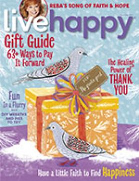 Live Happy December 2017 cover