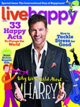 Live Happy May 2018 cover
