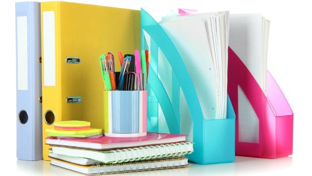 Organized workspace