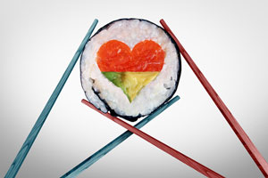 Love and sushi