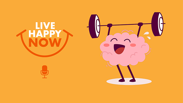 A happy brain working out